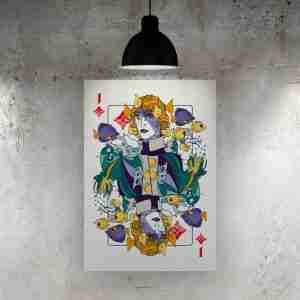 Jack of Diamonds Art Print – ONDA