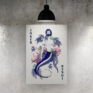 Joker Merman Art Print – ONDA