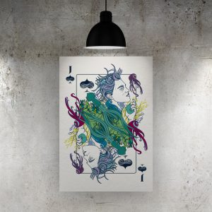 Jack of Spades Art Print – ONDA