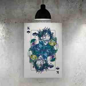 King of Spades Art Print – ONDA