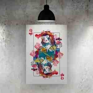 Queen of Hearts Art Print – ONDA