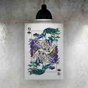 Queen of Spades Art Print – ONDA