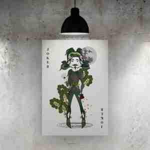 Joker Buono Art Print – The Green Man