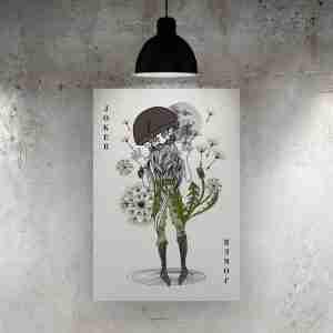 Joker Cattivo Art Print – The Green Man