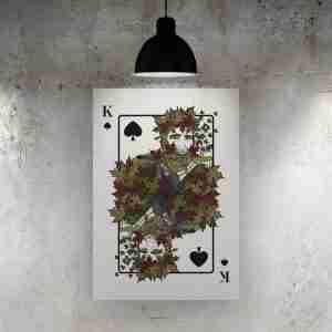 Queen of Spades Art Print – The Green Man